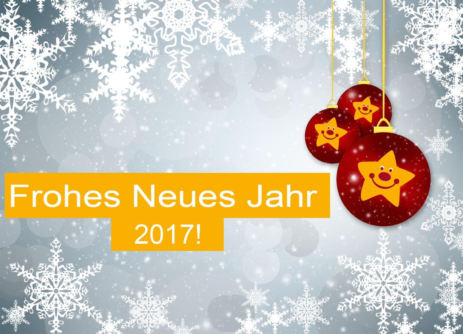 Frohes Neues Jahr 2017 - Aktion Hilfe für Kinder