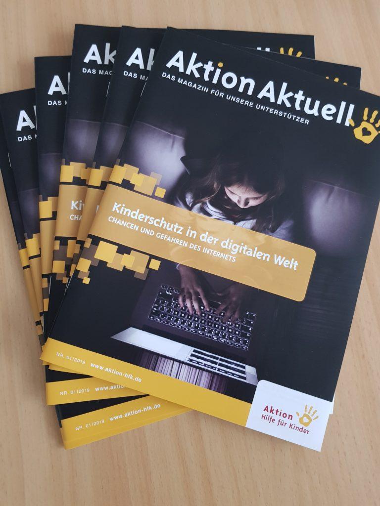 Aktion Aktuell - Magazin der Kinderhilfsorganisation Aktion Hilfe für Kinder
